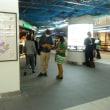 東武鉄道「北千住駅」で3回目のキャラバン・2018.3.15(掲載が遅くなりました)