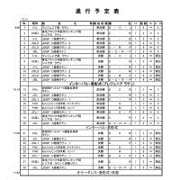 11.3宮城大会タイムテーブル