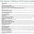 Windows 10 [112] : 次期アップデート Fall Creators Update はいつ?