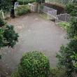 雨の中の仕事日