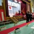 阿見町立竹来中学校の卒業式