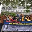 U.S. Veterans Protest Military Bases in Okinawa