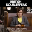 British Doublespeak