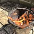 ウッドガスストーブ式 焚き火台 自作