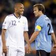 ワールドカップ ウルグアイ対フランス
