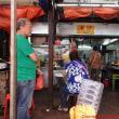 クアラルンプールのチャイナタウンで美味しいお粥 漢記とリンギットへの両替は市内で