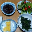 今日の朝食(12月14日)タラのフライトレンコンのキンピラ
