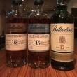 Ballantine's17YEARS & GLENBURGIE15YEARS,MILTONDUFF15YEARS
