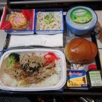 2018年10月 香港航空機内食(関西-香港ー関西)