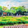 五条川ー萱津神社