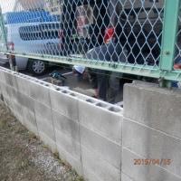 ブロック塀・修理完了