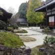 秋雨の中の、崇禅寺の紅葉