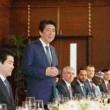 首相との昼食会に呼ばれなかったのかな?韓国大使