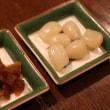 洋風献立 チキンカレー・ポテトサラダ・野菜ピクルス・キャベツとソーセージのスープ