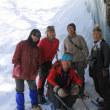 大幽洞窟の氷筍