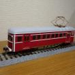 上田丸子の木造電車を作る その2