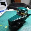 1/43 model cars 日野トレーラーバス 1949 /T13B+T26A 窓貼り1
