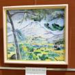 サントビクトワール山(アクリル画)