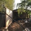 屋根と板塀④