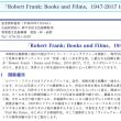 二人のロバート:ロバート・フランク