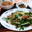 No.4282  ニラレバ炒め定食