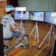 自転車シュミレーター教室