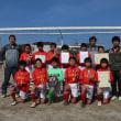 卒団式、親子サッカー写真を公開しました。
