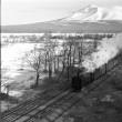 蒸気機関車 駒ヶ岳と蒸気機関車