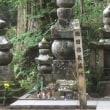 高野山に織田信長公の墓所が。戒名からわかったと。20年前の事。(写真は、高野山奥の院参道)  1400話目