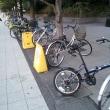 放置自転車容認区域新浦安ブライトンホテル前