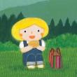 「伊藤香奈アクリル画展 & はい!チーズ原画展」のご案内
