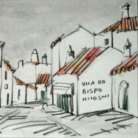 1530.ヴィラ・ド・ビスポの町角