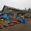蓼科山荘より 10月20日の積雪状況 全て溶けて0cm