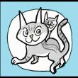 腹黒作者と足黒猫