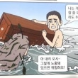 ハトの背中を見て驚く脱北漫画家! そのワケは?  ▸チェ・ソングク「大韓民国定着記」より