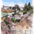 travel sketch..Valparaiso, Chile