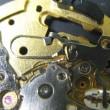 クレドール婦人物クオーツ時計を修理です