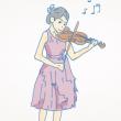 バイオリン少女