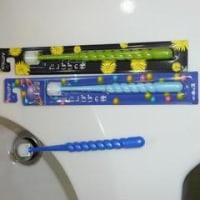 新しい歯ブラシ