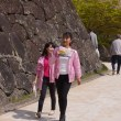 大村桜まつり さくらカフェ フラワーメイツ・鐘江美沙紀と岡田 奏2018・4・1