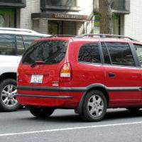 Opel Zafira 1999- 1999年に登場したオペル ザフィーラ