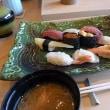 """今日のランチは、目と味を楽しめる""""握り寿司""""..."""