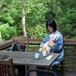 軽井沢から草津への旅(ハルニレテラス)