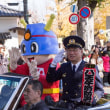 八王子いちょう祭り 音楽隊やクラシックカーのパレード