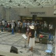 ♪ap bank お出迎えライブ〜JR掛川駅〜7・16