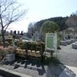 2018年春の彼岸のお墓参り(-∧-)