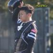 2018年春季キャンプ、B組キャッチャー張本優大くんと谷川原健太くん