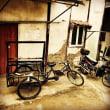 上海の街の実用自転車3