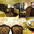 タワー夜景と中華料理