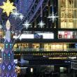 博多駅とキャナルのイルミネーション